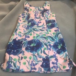 Lilly Pulitzer Mila shift in sweet pea sz 2 NWOT